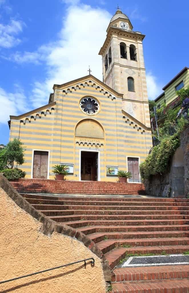 San Martino Church- things to do in Portofino