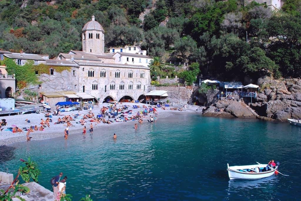 San Fruttuoso Abbey - what to do in Portofino Italy