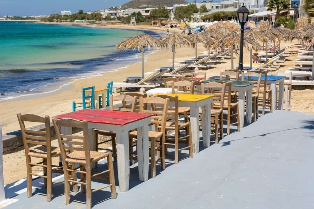 Agia Anna beach resort Naxos - where to stay in Naxos