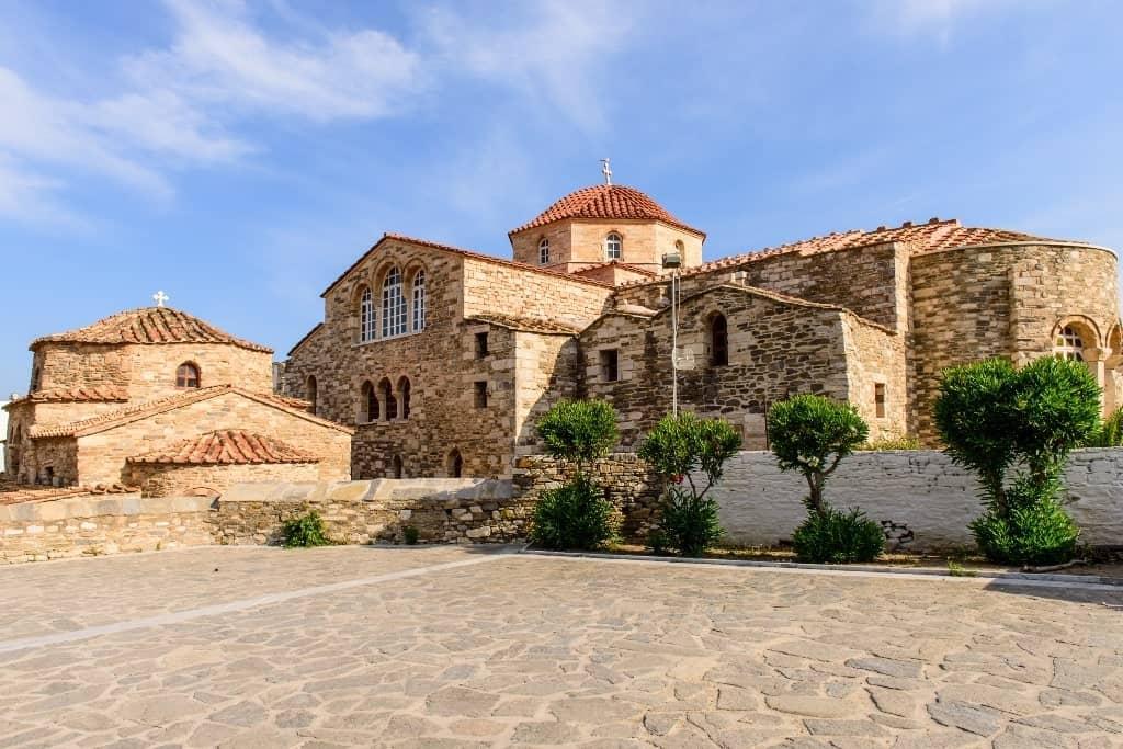 The Ekatontapiliani church in Parikia