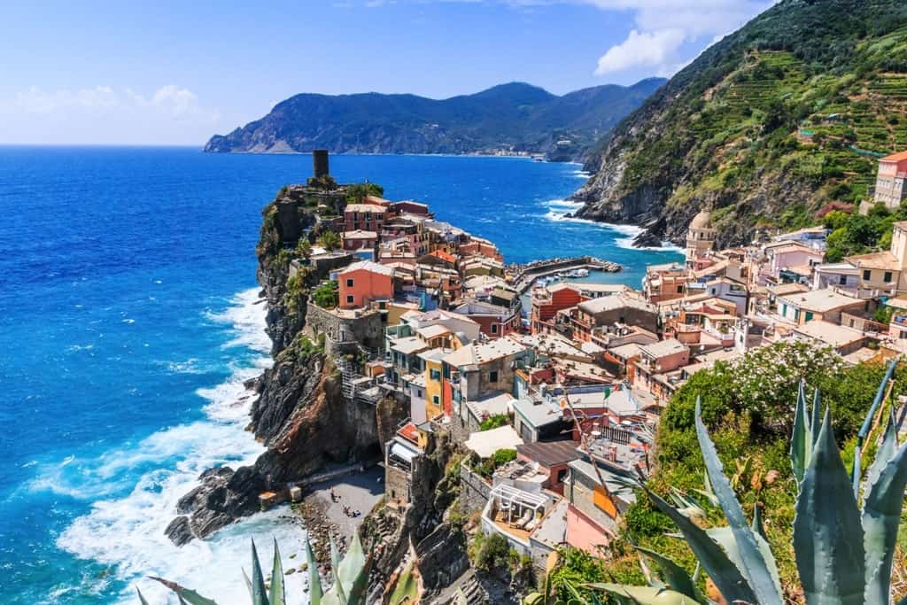 Vernazza from Above - 2 days in Cinque Terre Hiking