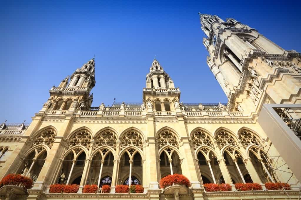 Vienna's City Hall - Austria itinerary