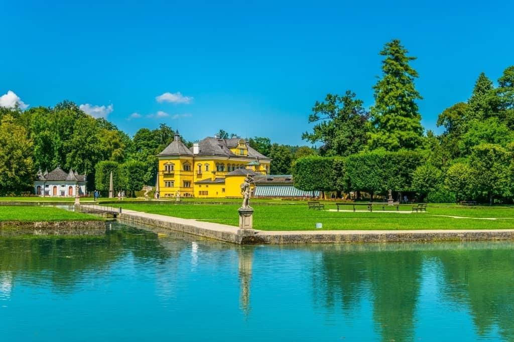 Hellbrun Palace Salzburg Austria itinerary
