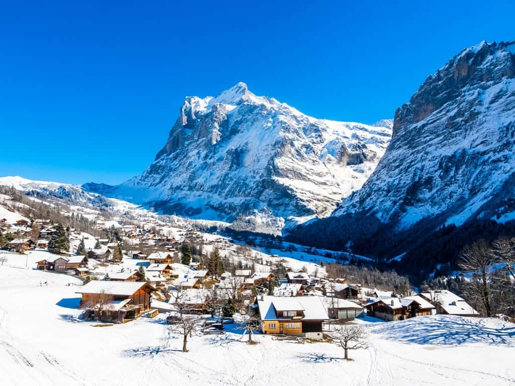 Grindelwald, Interlaken - European countries to visit in December