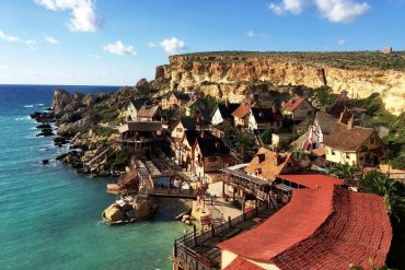 Popeye village in Malta - theme park in Europe