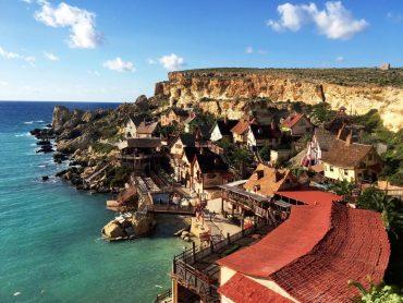 Popeye village in Malta - theme park in Europe