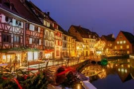 Colmar in winter