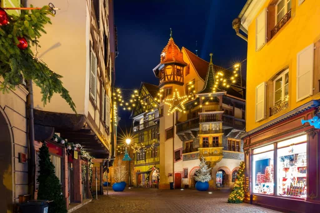 Maison Pfister in old town of Colmar