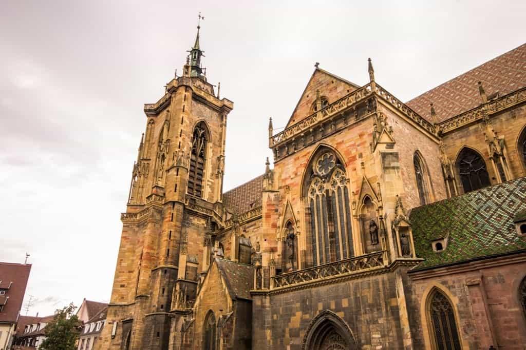 St Martin's Church - colmar in winter