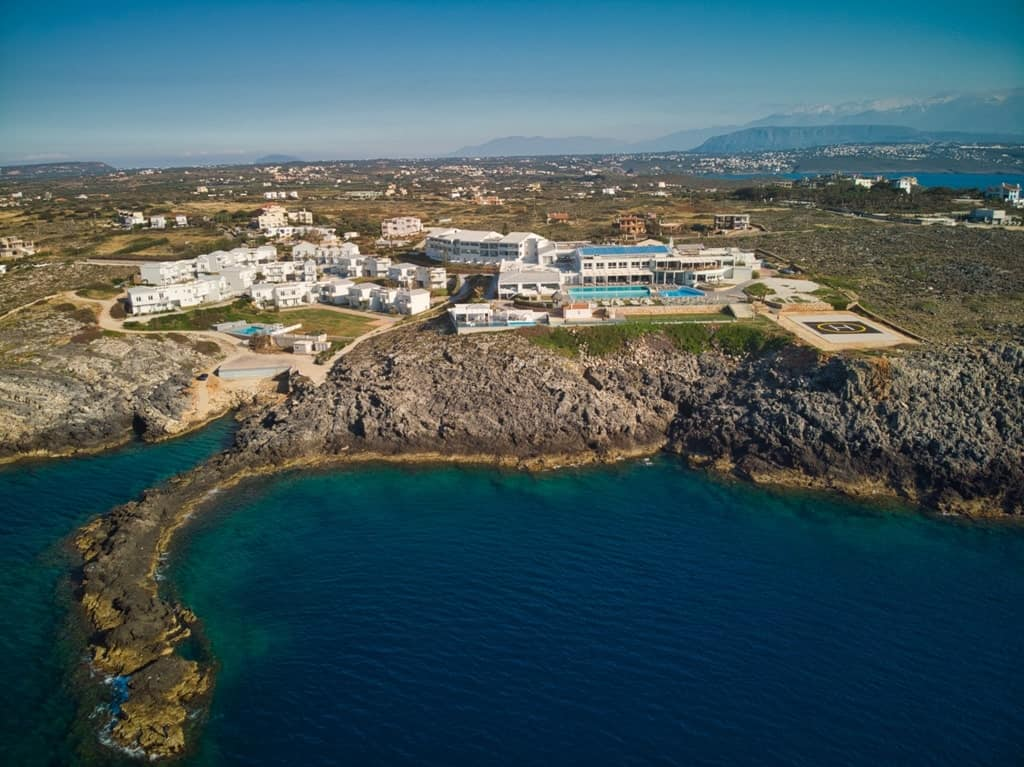 Best Dji Drone >> A review of Mr & Mrs White Lounge Resort and Spa in Crete ...