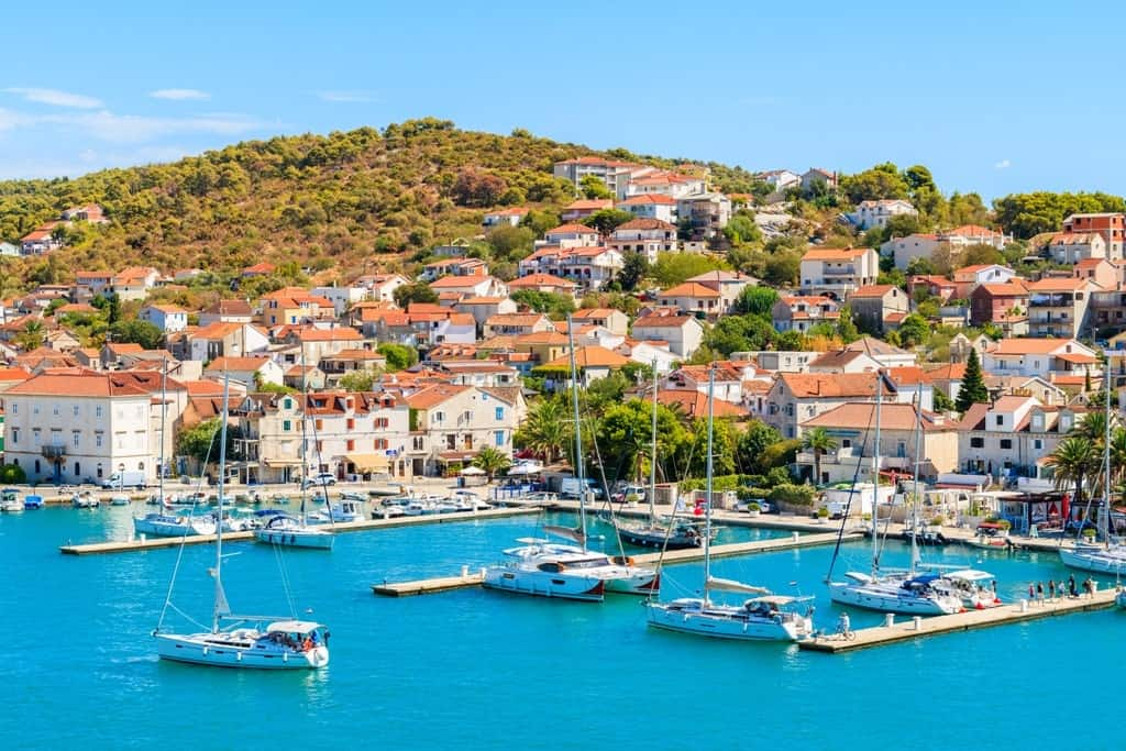 Trogir makes a great day trip from Split
