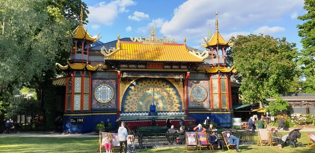 One day in Copenhagen - Tivoli Gardens