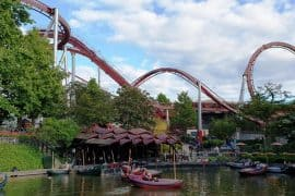 Tivoli gardens copenhagen with kids