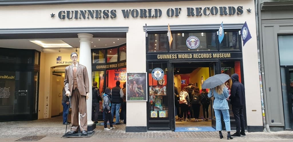 The Guinness World Records Museum - what to do in Copenhagen with kids
