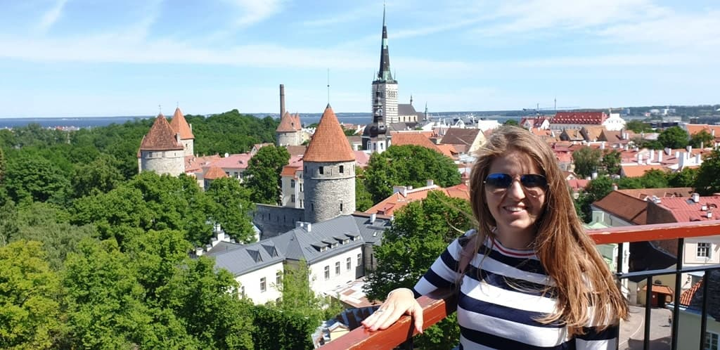Toompea viewing platform - Tallinn