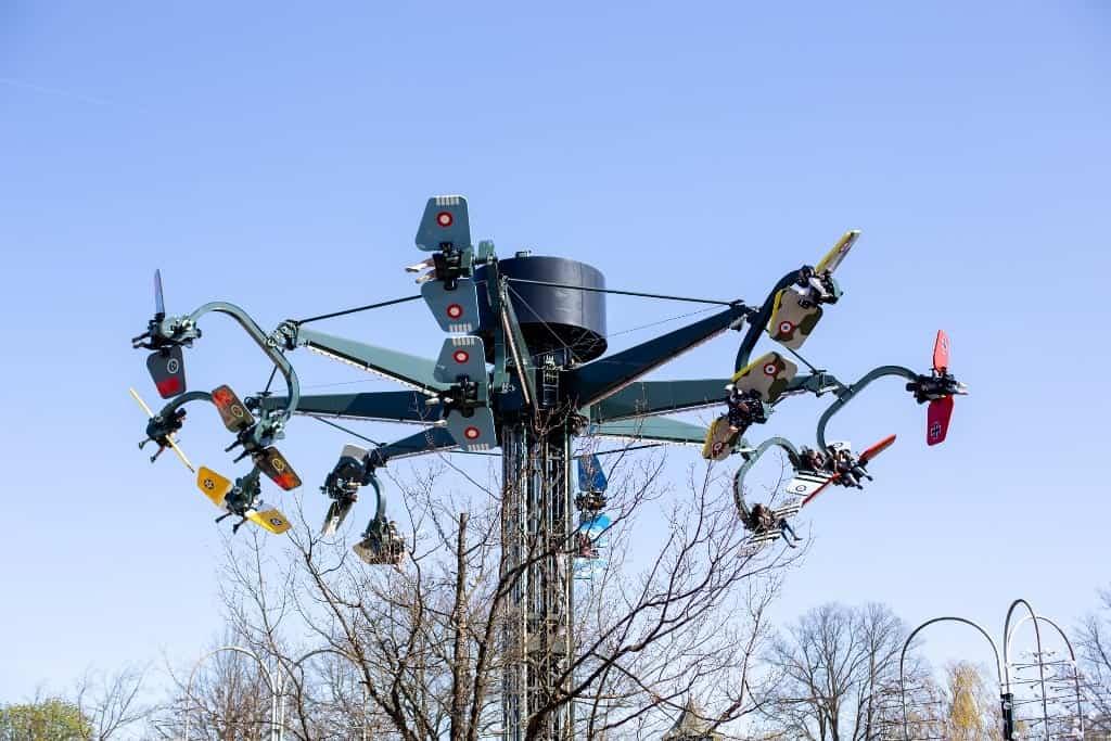 Bakken Amusement Park - spring in copenhagen