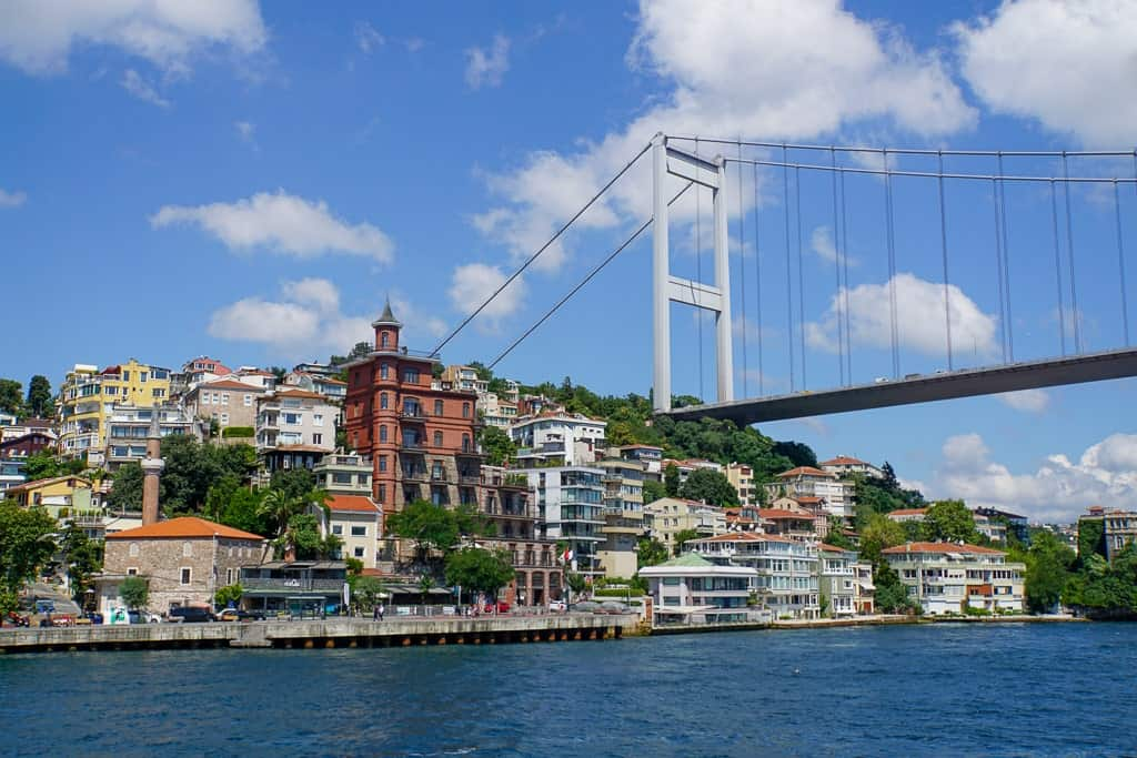 Bosphorus cruise - 3 days in Istanbul