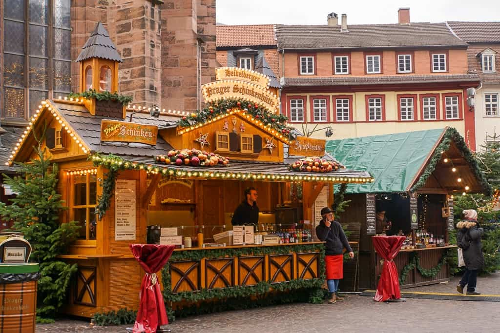 Heidelberg in winter - Christmas Market