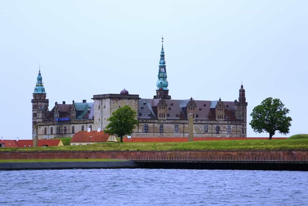 Kronberg Castle - Copenhagen in winter