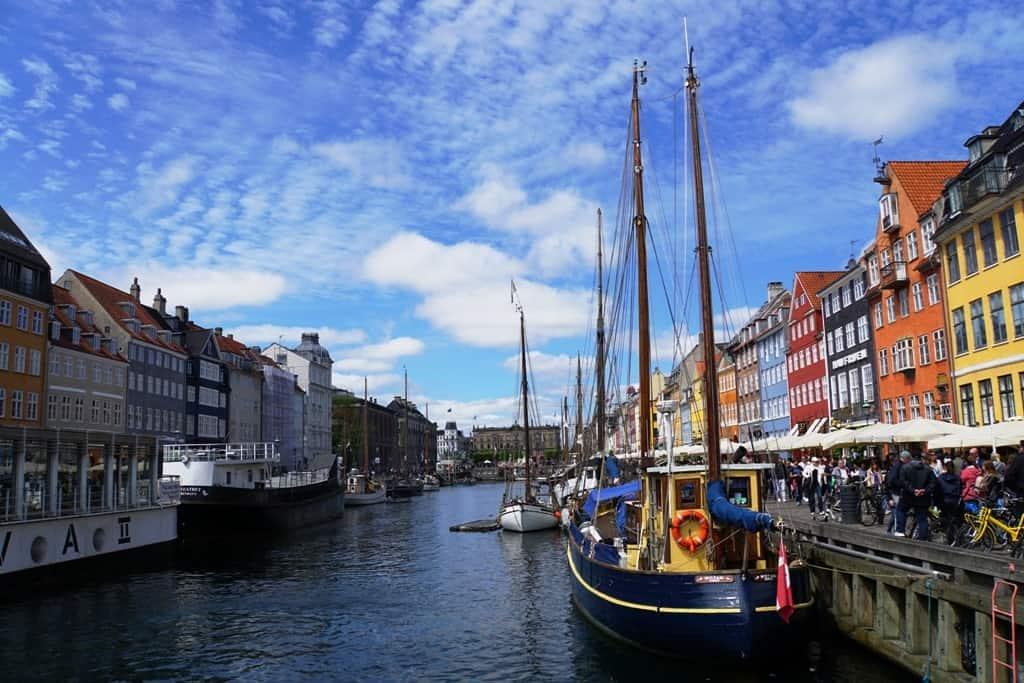 Nyhavn Harbor Copenhagen itinerary