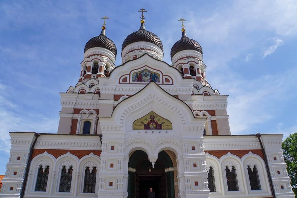 Alexander Nevsky Cathedral - a weekend in Tallinn