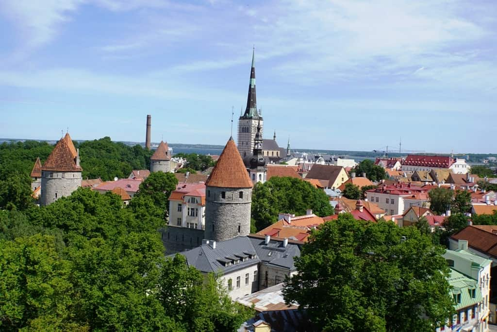 Toompea Viewing platform -a weekend in Tallinn