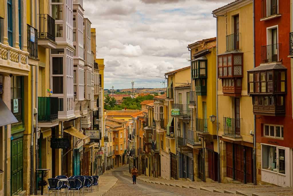 Balboraz Street Zamora Spain