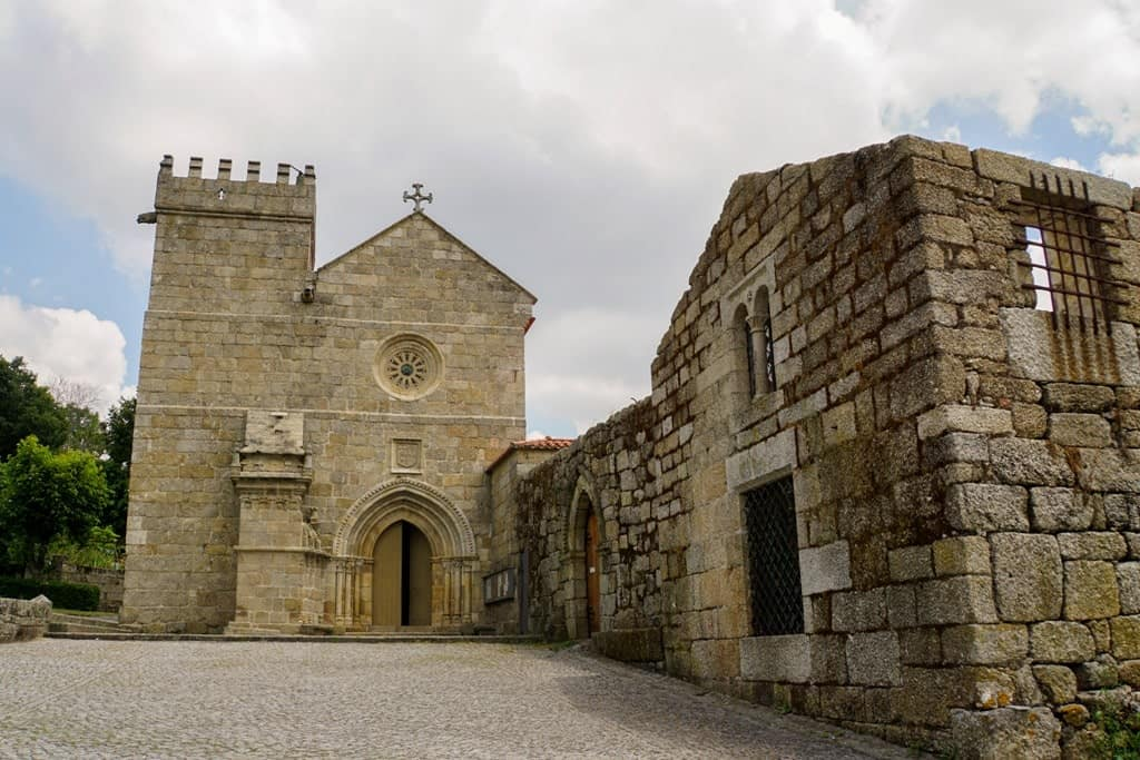 Monastery of Saint Peter of Cête, near Amarante Portugal