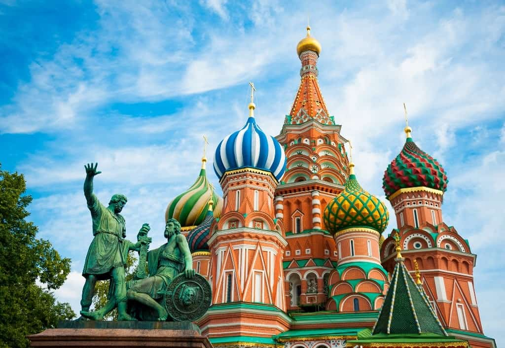 3 days in Moscow itinerary
