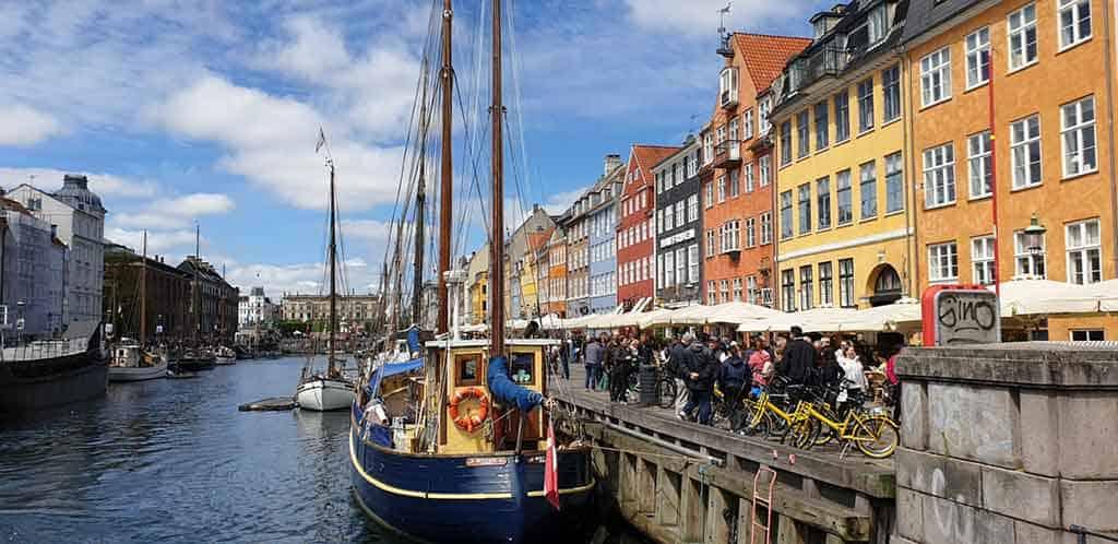 Nyhavn Harbour Copenhagen Denmark