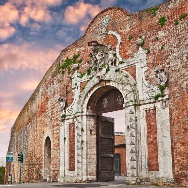 Porta Salaria Siena Italy