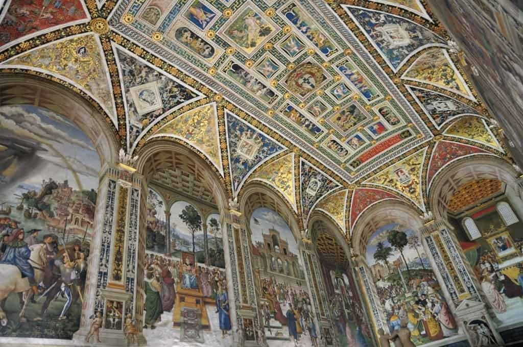 Siena Cathedral - Piccolomini Library - things to do in Siena Italy