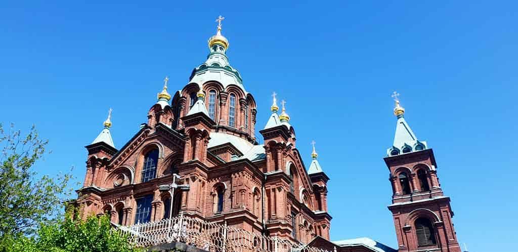 Uspenski-Cathedral - one day in Helsinki