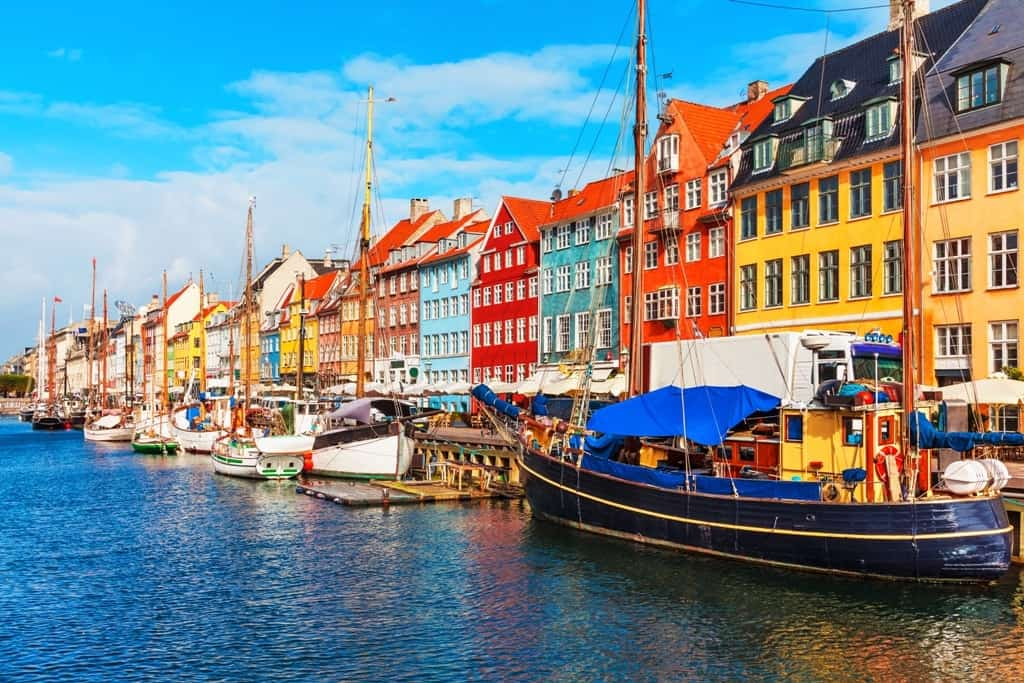 The best time to visit Copenhagen - summer