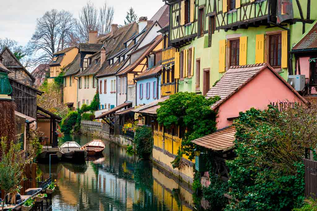 medieval villages and towns in France Colmar