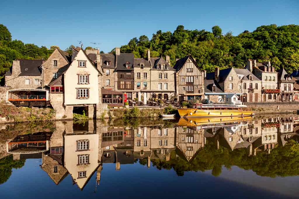 medieval villages and towns in France Dinan