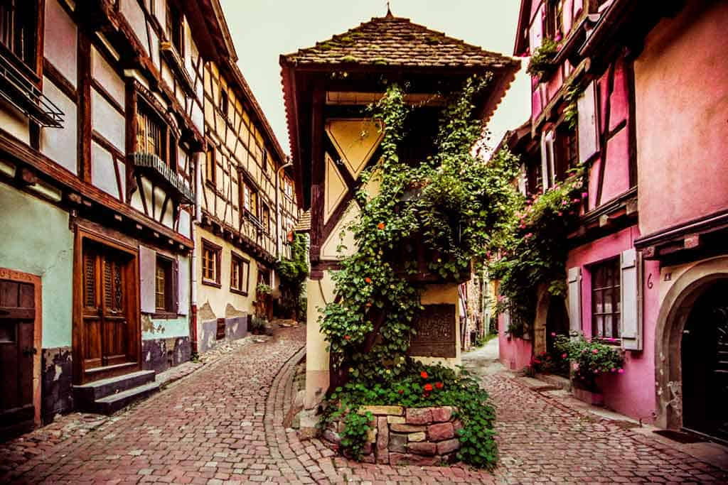 medieval villages and towns in France Eguisheim
