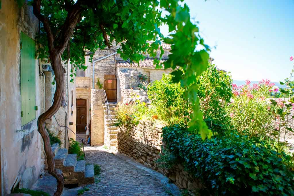 medieval villages in France Gordes