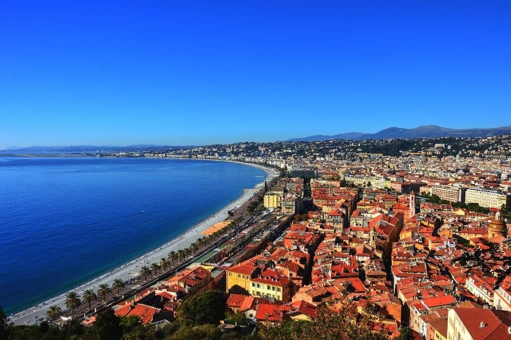 Nice Promenade - France beaches
