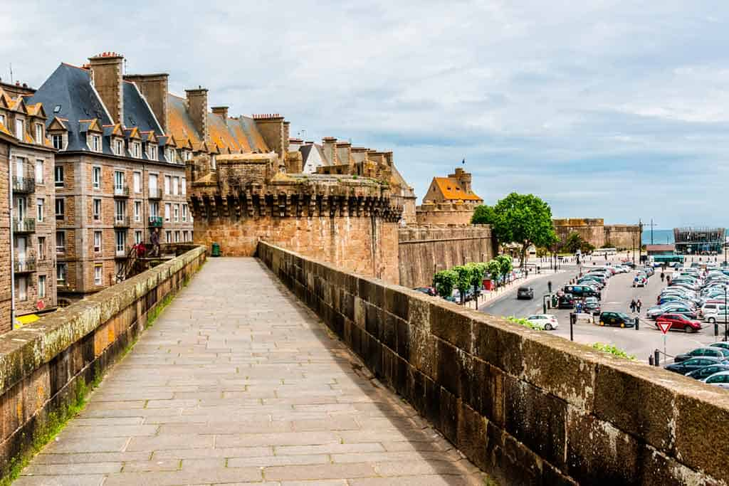 medieval villages and towns in France Saint Malo