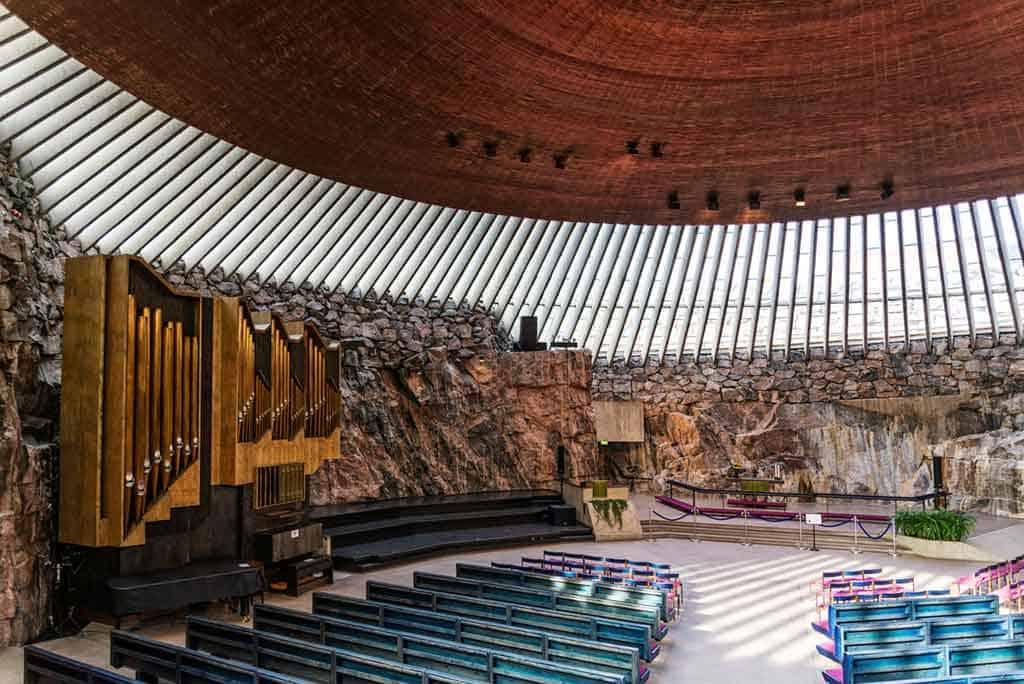 Temppeliaukio-rock-church Helsinki