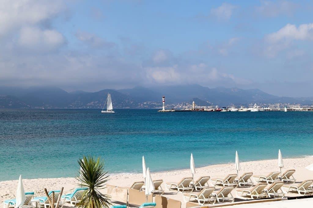 monaco beach - South France