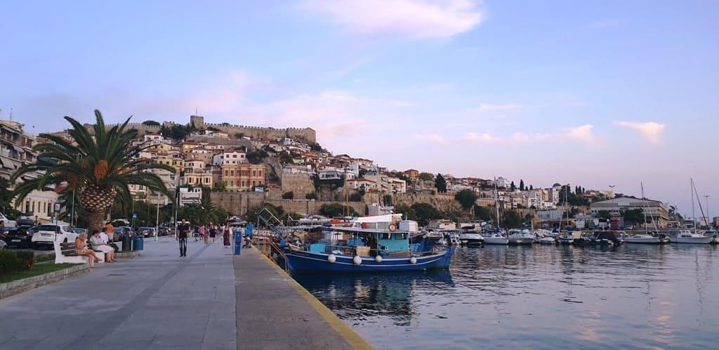 waterfront Kavala