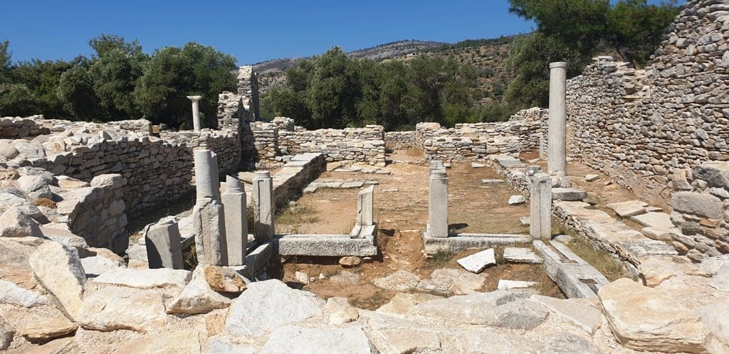 Archaeological Site of Alykes - Thassos Island
