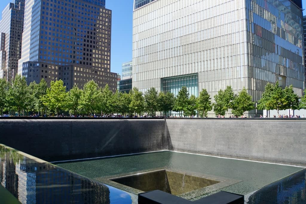 9/11 Memorial Plaza - 5 day New York itinerary