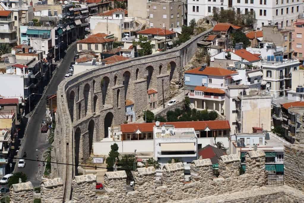 Roman Aqueduct Kavala