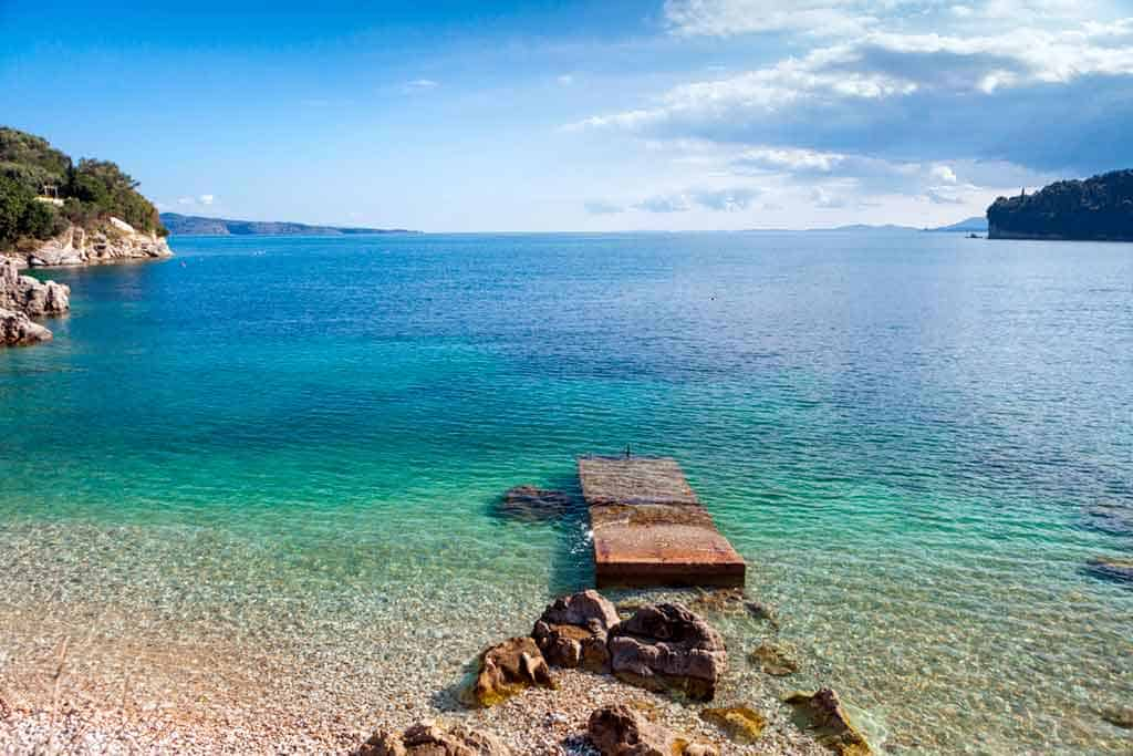 Best beaches in Corfu-Kalami-Beach