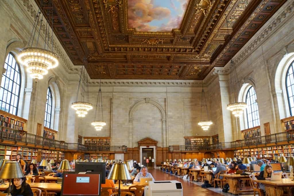 New York Public Library - 5 day New York itinerary