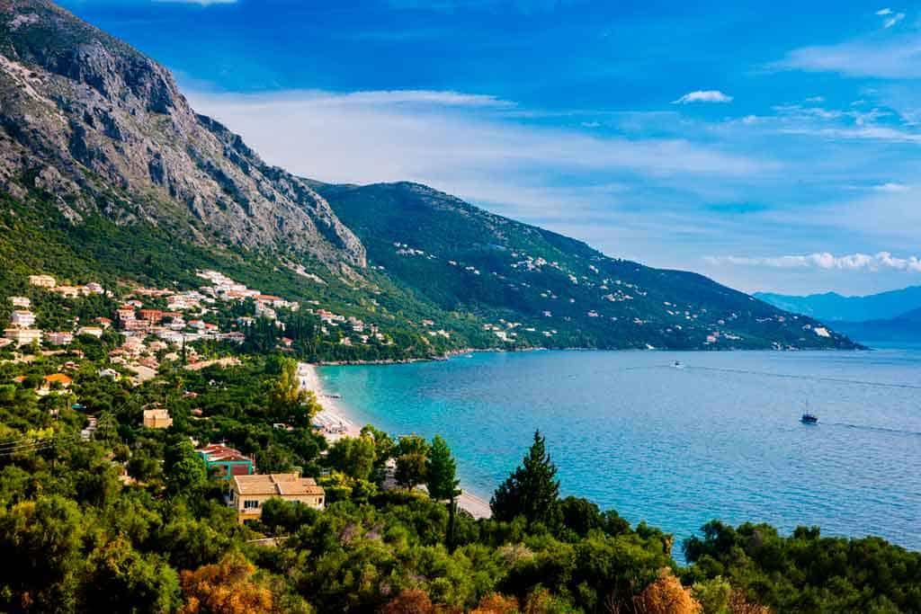 Beaches in Corfu-barbati-beach