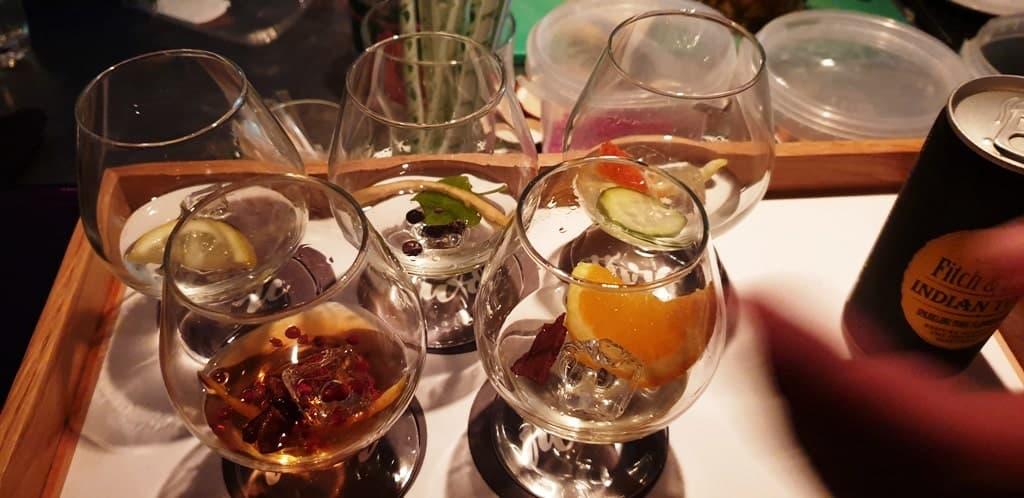 Gin Tasting Mossel Bay